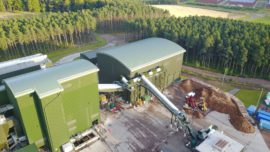 Craigellachie biomass plant for Speyside Energy.