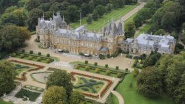 Waddesdon Manor house, estate and retail outlets.