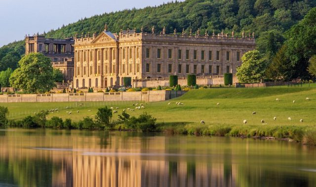 Chatsworth House, gardens and retail outlet.