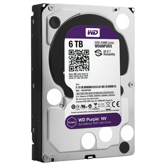 Western Digital® scales up surveillance-class HDD line